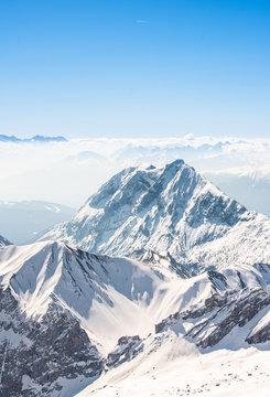 Zugspitze Alpen Schnee Landschaft