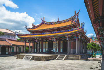 Wall Mural - Taipei Confucius Temple in dalongdong, taipei