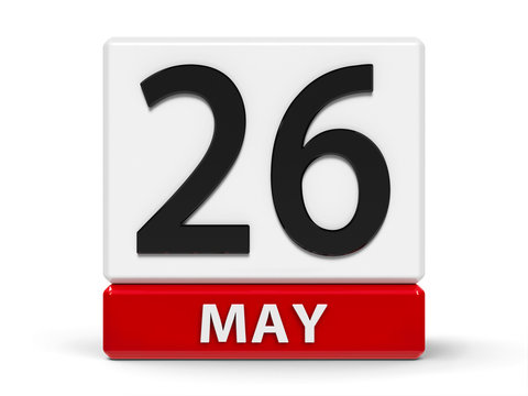 Cubes calendar 26th May