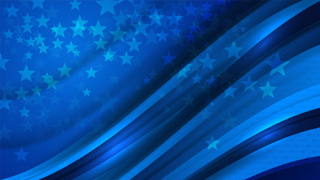 USA Color background concept for independence, veterans, labor, memorial day and events