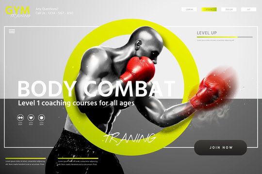 Boxing lessons website