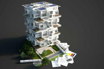 Modern module building block