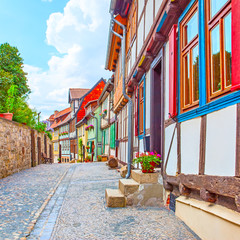 Wall Mural - Small town Germany