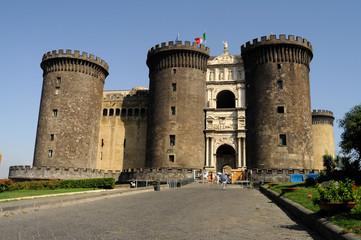Photo sur Plexiglas Naples Castel Nuovo ft90_6059 Maschio Angioino Napoli Campania Italia