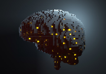 Brain with Artificial intelligence