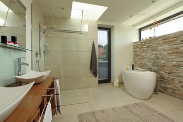 Badezimmer Bad Badewanne Luxus Design modern