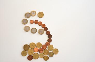 Das Geld, Cent und Euro