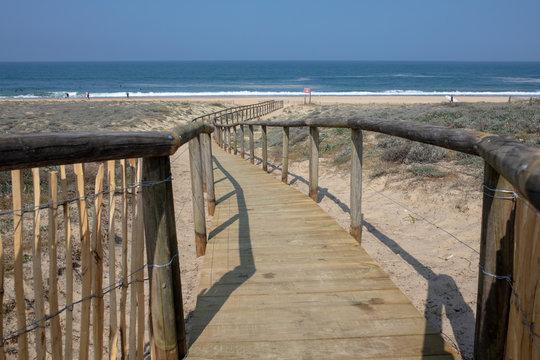 central beach of Hossegor Soorts France