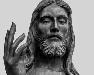 Jesus Christ wooden statue