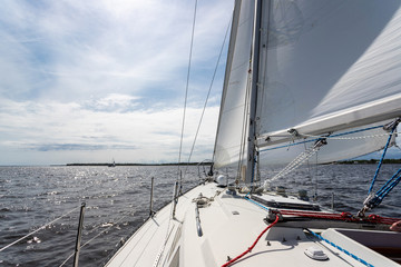 Sailing on the Neuse River in Oriental