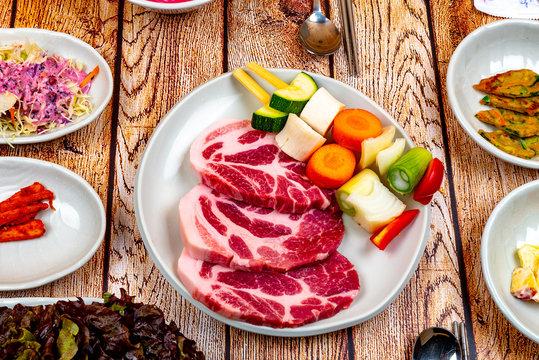 고기, 생고기, 돼지고기, 소고기, 등심, 목살