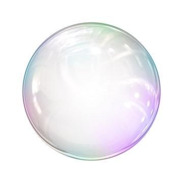 soap bubble background illustration