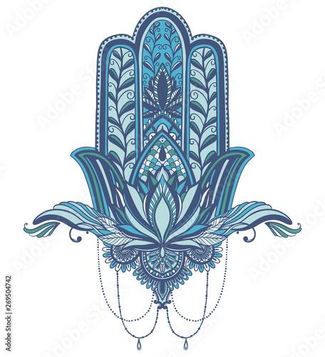 Hamsa talisman religion Asian  Symbol of protection and