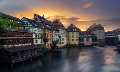 Petite France in Strasbourg Alsace