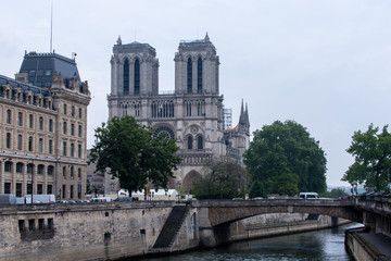 Cathedral Notre Dame de Paris France