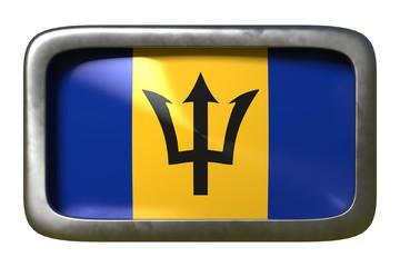 Barbados flag sign