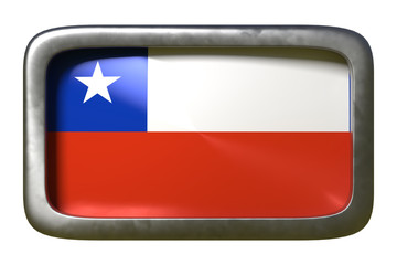 Chile flag sign
