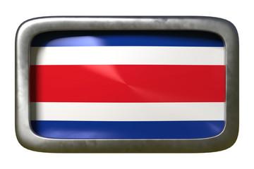 Republic of Costa Rica flag sign