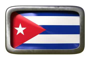 Cuba flag sign