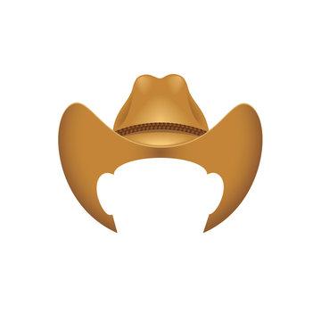 Cowboy hat - vector illustration - Vector