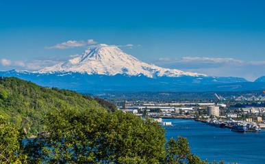 White Mount Rainier 4