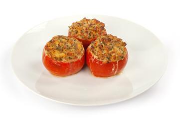 pomodori ripieni con prosciutto
