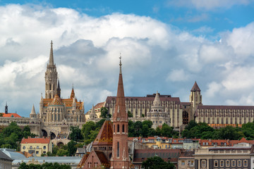 Fishermans Bastion and Matthias Church
