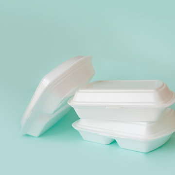 Food delivery service from cafes and restaurants. Food containers