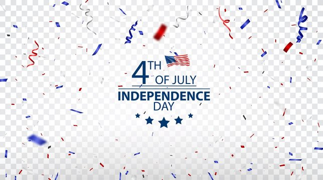 Fourth of July Independence day of usa design