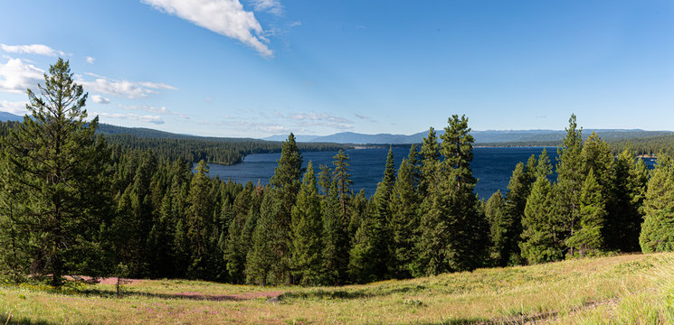 looking south toward McCall Idaho over Payette Lake