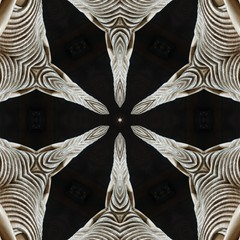 gautam buddha abstract mandala design template for Social media