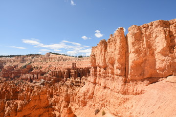 In de dag Baksteen landscape navajo loop trail bryce canyon in the united states of america