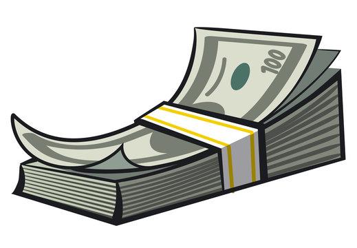 cash money stack