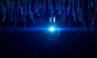 Fotobehang - Software and idea concept