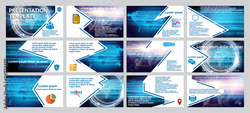Template business presentation  Powerpoint presentation templates