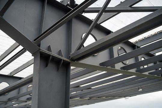 Metal building construction stadium