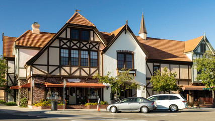 Solvang Danish Village California Street View