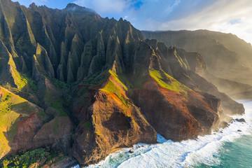 Kauai NaPali Coast Aerial