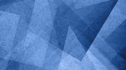 Abstract blue and white background with geometric diamond and triangle pattern. Elegant textured shapes and angles in modern contemporary design.