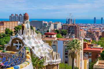 Tuinposter Barcelona View of Barcelona Spain