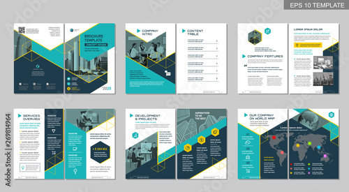 """Brochure Creative Design. Multipurpose Template, Include"