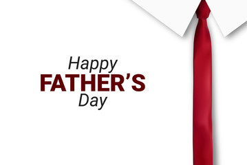 Happy Father s Day greeting card. Vector illustration. - Vector