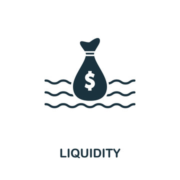 Liquidity icon. Creative element design from stock market icons collection. Pixel perfect Liquidity icon for web design, apps, software, print usage