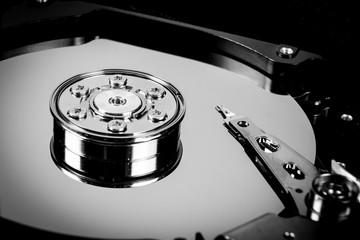 Festplatte - Datenspeicherung