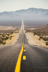 Wall Mural - Classic highway scene in the American West