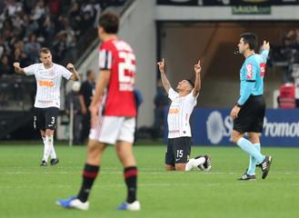 Brasileiro Championship - Corinthians v Sao Paulo