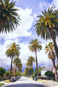 Walking in City of Pasadena, California