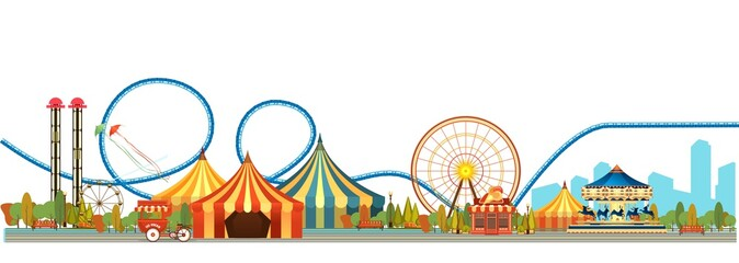 Amusement park circus