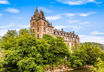 Fotomurales - Medieval castle of Durbuy, Belgium