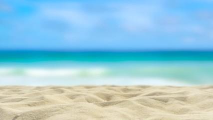 Wall Mural - Closeup Beach Sand Texture In The Summer.